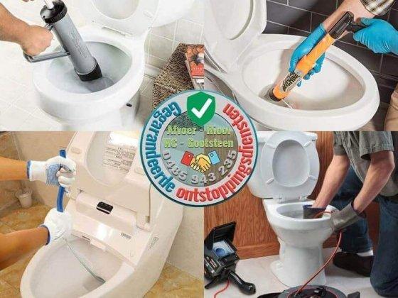 Verstopt toilet ontstoppen wc verstopping verhelpen